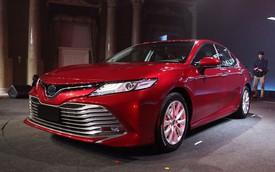 Hé lộ video đầu tiên của Toyota Camry 2019 tại Việt Nam: Tiết lộ thông số mới