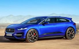 SUV Jaguar J-Pace ra mắt trong 2 năm tới đấu BMW X6, Audi Q8