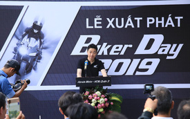 Honda Việt Nam tổ chức Ngày hội trải nghiệm xe mô tô - Biker Day cho gần 200 khách hàng trên toàn quốc