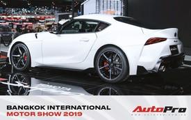 Toyota Supra trình diện triển lãm Bangkok 2019 bằng tông trắng lịch lãm