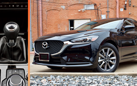 Mazda6 từ bỏ số sàn vì ế ẩm