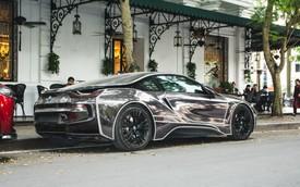 Đại gia Hà thành lột xác BMW i8 giống như Mercedes-AMG GT-S từng gây xôn xao trước đó