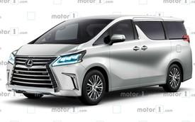 Lexus chuẩn bị giới hiệu mẫu MPV 'sang chảnh' cho giới nhà giàu