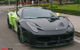 Chạm mặt Ferrari 458 Italia nổi tiếng nhất Việt Nam vừa về tay đại gia Hà Thành