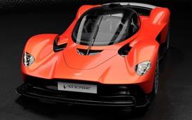 Siêu xe Aston Martin Valkyrie chốt thông số khủng: 1.160 mã lực!