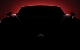 """Bugatti nhá hàng """"Chiron mang thiết kế cổ điển"""" lần cuối trước khi ra mắt"""
