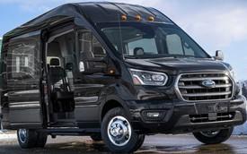 Ford nâng cấp Transit lên bản 2020, bổ sung dẫn động 2 cầu và nhiều tính năng an toàn mới