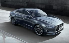 Hyundai Sonata thế hệ mới chính thức lộ diện, thách thức Toyota Camry