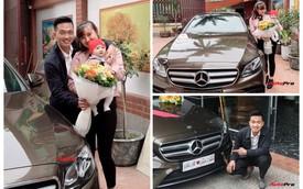 Soái ca Bắc Ninh chi 2,5 tỷ đồng mua Mercedes-Benz E300 AMG tặng vợ nhân ngày 8/3