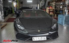 Đại gia Bitcoin chia tay Lamborghini Huracan màu đen độc nhất Việt Nam