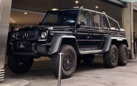 Đại gia Qatar đỗ song song 'chất như nước cất' với màn lách Mercedes-Benz G63 AMG 6x6 chuẩn tới từng phân