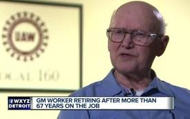 Công nhân lão làng nhất của GM nghỉ hưu sau 67 năm: Hành trình cống hiến đáng nể nhất mọi thời đại