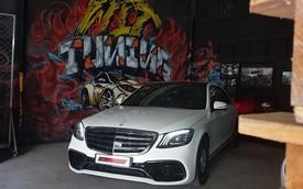 Thợ Sài Gòn lột xác Mercedes-Benz S500 đời 2015 thành S65 với 400 triệu trong 10 ngày