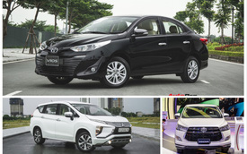 Top 10 xe bán chạy tháng 3/2019: Toyota Vios và Mitsubishi Xpander lập lại trật tự