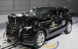 Range Rover Evoque đời mới nhận 5 sao an toàn tối đa