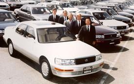 Copy Mercedes - Công thức khởi nghiệp thành công của Lexus