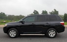 Sau 9 năm, giá SUV nhập Mỹ Toyota Highlander giảm 50% so với thời điểm mua mới