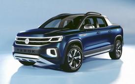 Volkswagen Tarok ra mắt lần thứ 2, quyết đi vào sản xuất để đấu Ford Ranger