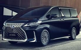 Ra mắt Lexus LM minivan - 'Siêu Toyota Alphard' cho nhà giàu