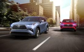 Ra mắt Toyota Highlander hoàn toàn mới: Lấy RAV4 làm chuẩn để đấu Ford Explorer