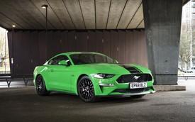 Ford Mustang là coupe thể thao bán chạy nhất toàn cầu năm thứ 4 liên tiếp