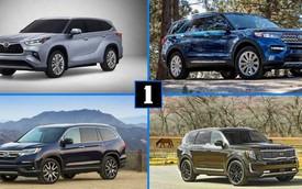 So sánh Toyota Highlander vs Kia Telluride vs Ford Explorer vs Honda Pilot: Cuộc chiến không khoan nhượng
