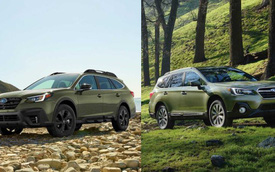 Subaru Outback 2020 theo triết lý 'đừng sửa nếu chưa hỏng' thay đổi thiết kế ra sao so với người tiền nhiệm?