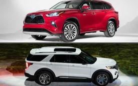 Mua xe nào sắp về Việt Nam: Ford Explorer 2020 hay Toyota Highlander 2020?