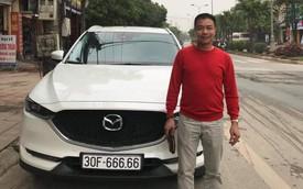 Bàn tay vàng trong làng bốc biển: Chủ xe Mazda CX-5 bấm được biển ngũ quý 6 tại Hà Nội