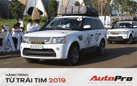 Có gì bên trong những chiếc Range Rover của Trung Nguyên ở Hành trình từ trái tim 2019?