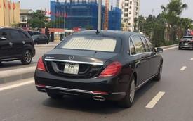 Mercedes-Maybach S600 Pullman thứ 2 Việt Nam chính thức có biển trắng