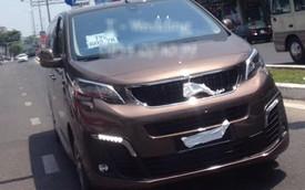 Peugeot Traveller giá dự kiến 1,65 tỷ đồng bất ngờ xuất hiện trên đường chạy thử tại Việt Nam