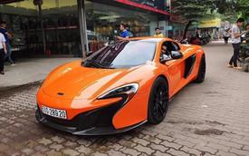 Siêu xe McLaren 650S Spider xuất hiện tại Hà Nội với chi tiết dễ gây nhầm lẫn với một chiếc nổi tiếng khác