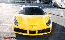 Ferrari 488 GTB màu vàng óng từng của đại gia Bình Dương tìm được chủ nhân mới, ra biển số trắng Sài Gòn