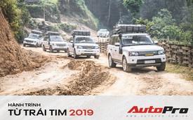 Nhìn lại 21 ngày trèo đèo vượt núi gần 5.000 km của đoàn Range Rover trong Hành trình từ trái tim 2019