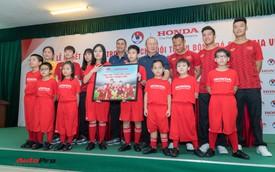 Honda Việt Nam tiếp tục tài trợ chính cho các đội tuyển bóng đá quốc gia