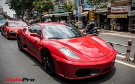 Hàng hiếm Ferrari F430 màu đỏ biển số Hải Phòng xuất hiện trên phố Sài Gòn với một sự khác biệt