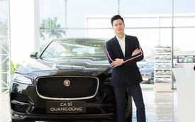 Ca sĩ Quang Dũng chi tiền tỷ 'tậu' SUV hạng sang Jaguar F-Pace