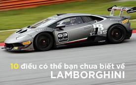 [Photo Story] 10 điều có thể ngay cả 'fan' Lamborghini cũng có thể chưa biết