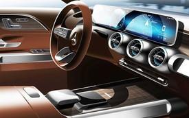 Mercedes-Benz GLB - Đàn em GLC lần đầu tung ảnh nội thất, sẵn sàng ra mắt