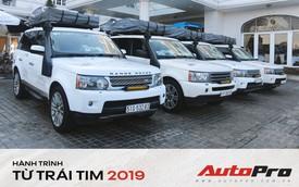 Trung Nguyên Legend chi hàng trăm triệu đồng độ một chi tiết cho Range Rover để chạy xuyên Việt