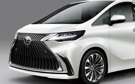 MPV Lexus dựa trên Toyota Alphard là như thế này đây