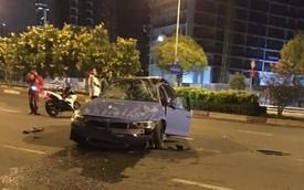 'Hàng hiếm' BMW M3 từng thuộc sở hữu của Cường Đô La móp méo, gãy bánh sau vì tai nạn ở Sài Gòn