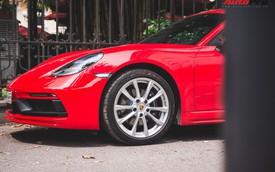 Đại gia Hà Nội chi cả chục triệu đồng chỉ để thay đổi một chi tiết nhỏ trên Porsche 718 Cayman mà ít ai ngờ tới
