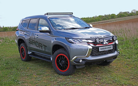 Mitsubishi Pajero Sport SVP - SUV 7 chỗ độ chính hãng cho dân chơi