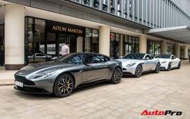 Loạt 'xế tiền tỷ' Aston Martin của đại gia Việt nối đuôi nhau đi bảo dưỡng tại Sài Gòn