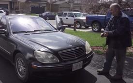 Người đàn ông may mắn mua được Mercedes-Benz S-Class với giá bằng nửa chiếc iPhone
