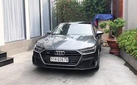 Audi A7 Sportback thế hệ mới giá gần 4 tỷ đồng, chiếc đầu tiên Việt Nam đã ra biển