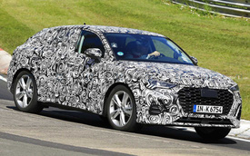 Audi Q4 2020 lộ diện với vóc dáng lạ, cạnh tranh Range Rover Evoque