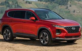 Hyundai Santa Fe phiên bản mới khoe trọn cụm điều khiển: Gây thất vọng vì không được như Palisade